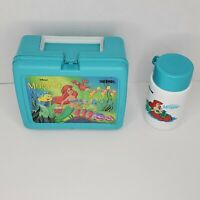 Disney's The Little Mermaid Lunch Box - TEAL - WITH Thermos
