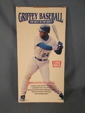 1992 Lime Rock Hall of Fame Ken Griffey JR Baseball - 3 Hologram Card Set