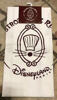 1 TORCHON / 1 TEA TOWEL BISTRO / Bistrot REMY Disneyland Paris