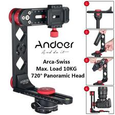 Andoer 720° Aluminium Alloy Panoramic Ball Head+Arca-Swiss Quick Release Plate