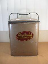 Vintage Magikooler Leisure Chest Metal Craft Travel Picnic Ice Cooler c.1950's