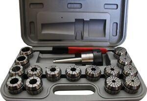 New ER40 Milling Collet Chuck Set MT3 Arbor Lathe 15pce Collet