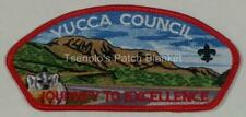 Yucca Council 2014 Journey to Excellence Badger Jte Csp Mint Cond Free Shipping