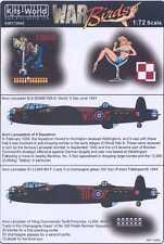 Kits World Decals 1/72 AVRO LANCASTER 9 Sqn & 300 (Polish) Squadron