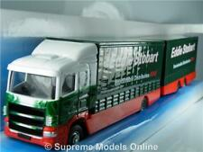 EDDIE STOBART SCANIA DROP BAR TRUCK 1/64TH SIZE GREEN/WHITE VERSION R0154X{:}