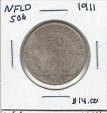 Canada Newfoundland 1911 50 Cent Silver Lot#2