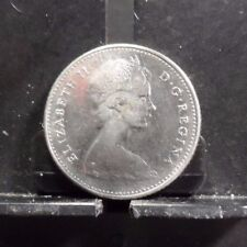 CIRCULATED 1968 10 CENT CANADIAN COIN(91217)1