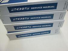 2015 CADILLAC SRX Service Shop Repair Workshop Manual SET FACTORY BRAND NEW OEM