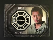 Rittenhouse Lost Dharma Patch Card Miles Straume DP6 138/250