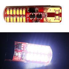 2X T10 Silica 3014 24SMD Led Light Decorative Lamp Car Strobe Flashing Light