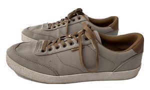KUSTOM KONNOR Grey Lace Up Skate SHOES - Size 9
