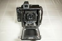 "Busch C Pressman camera, with RARE Ilex 3"" portrait lens and shutter."