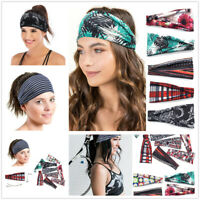 Fashion Women Leopard Striped Turban Twist Knot Head Wrap Headband Hair Band New