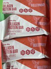 Bulletproof Apple Pie Collagen Protein Bar Keto Diet 1.59 oz - 12 Count