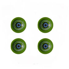 Easy People Longboards Speed Cruise wheel Set Solid Green with ,ABEC-7,Spacer