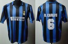 MONDO REPLICA  INTER F.C. MAGLIA 1995 1996 1^ HOME TG. XL ROBERTO CARLOS