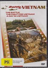 BATTLE OF VIETNAM - 3 DOCUMENTARIES -  DVD - NEW -