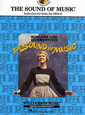 The Sound Of Music Instrumental Solos Learn to Play Cello Music Book & CD