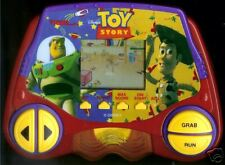 DISNEY TIGER ELECTRONIC TOY STORY CARTOON MOVIE HANDHELD VIDEO GAME BUZZ WOODY