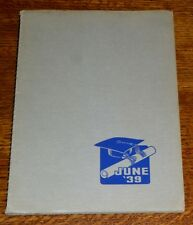 June 1939 Yearbook CLINTON KELLY HIGH SCHOOL Cleveland HS Portland Oregon OR