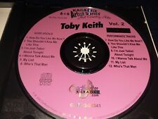 Chartbuster Karaoke, CD+G, 6+6 series, CB 20341, Toby Keith Volume 2