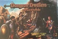 Dungeon Dwellers S2 Adventures Kickstarter Game Very Rare Sealed Free Postage