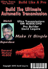 Automatic Transmission  Video DVD Blazer / Envoy /TrailBlazer/ Astro Van  4L60E