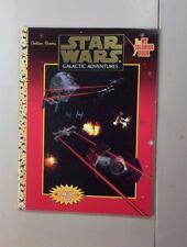 VINTAGE STAR WARS GALACTIC ADVENTURES COLORING BOOK 1997 SW5
