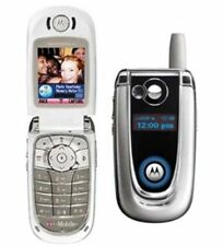 RETRO MOTOROLA V600 FLIP MOBILE PHONE - UNLOCKED WITH NEW HOUSE CGR AND WARRANTY