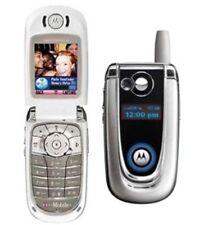 Retro MOTOROLA V600 Flip Téléphone Portable-Débloqué avec nouvelle maison RMC et garantie