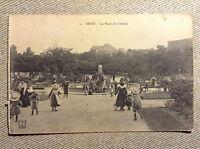 Brest La Place du Chateau France Vintage Postcard Unused Early/Old