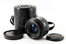 Minolta AF 28mm F/2.8 Prime Lens w/Case For Sony A Exce++ Japan Tested F/S #3942