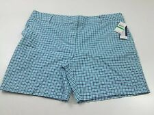 Izod Women's Bar Harbor Plaid Shorts Size 18