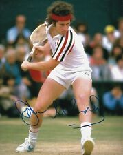 JOHN MCENROE SIGNED AUTOGRAPH 8X10 PHOTO TENNIS