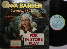 Country Lp Ava Barber Country As Grits On Ranwood