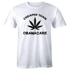 Medical Marijuana T-Shirt Cheaper Than Obama Care Pot Smoking Weed Dispensary