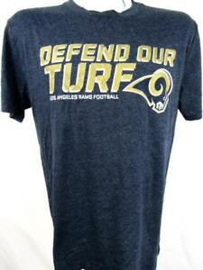 Los Angeles Rams Mens Size Large - 2XL Defend Our Turf Screened T-shirt ARAM 118