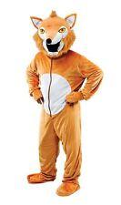 Adult Unisex Big Head Mr Fox Fancy Dress Mascot Costume Book Week New