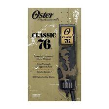 Oster Classic 76 Universal Motor Clipper w/ Detachable Camo (076076-297)