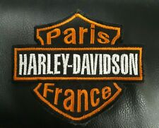 Patch Ecusson Harley Davidson Biker Motorcycles Motard France Paris badge moto
