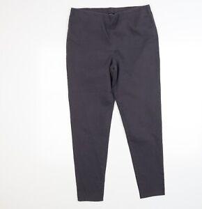 George Womens Grey  Denim Jegging Leggings Size 14 L27 in
