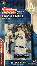 Los Angeles Dodgers 2020 Topps Factory Team Set Dustin May Gavin Lux Rookie Card