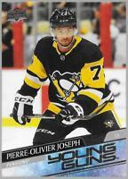 2020-21 Upper Deck Young Guns Pierre-Oliver Joseph Rookie # 216 NM/MT RC