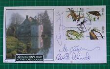 More details for buckingham pondlife fdc 2001 scotney castle signed tichmarsh walsh dimmock
