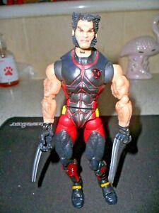 Marvel Legends Wolverine Action Figure Red & Black X-Men Classics Toybiz 2005