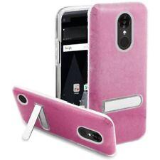 Fundas y carcasas transparente de color principal rosa para teléfonos móviles y PDAs LG