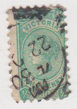 (DZ-230) 1904 VIC ½d green QVIC (AT)