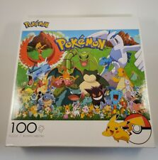 Pokémon Jigsaw Puzzle 100 Pieces For Ages 6+. Brand New. FREE SHIPPING!