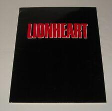 1990 LIONHEART MOVIE PROMO PRESS KIT JEAN-CLAUDE VAN DAMME DEBORAH RENNARD