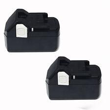 2x For Hitachi 18V 4.0AH BSL1850 BSL1830 BSL1815X 330139 33055 Li-ion Battery